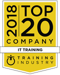 New Horizons Awarded '2018 Top 20 IT Training Companies' by Training Industry, Inc.