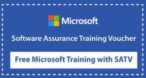 use your microsoft satv vouchers for microsoft training at new horizons